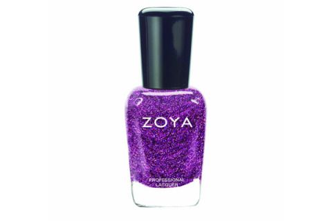 """<p>Try pairing this show-stopping, glittery plum polish with tangerine strappy stilettos. Man magnet central.</p> <p>Zoya Nail Polish in Aurora, $8, <a href=""""http://www.amazon.com/Zoya-Nail-Polish-5-Aurora/dp/B009R4P0VY"""" target=""""_blank"""">amazon.com</a></p>"""