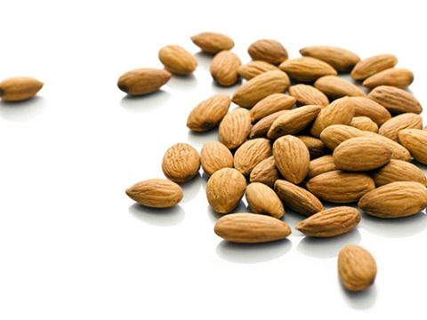 """<p>Rich in omega-3 fatty acids, these nuts are awesomely portable and <a href=""""http://www.cosmopolitan.com/advice/health/foods-that-burn-fat"""" target=""""_blank"""">satisfy hunger cravings</a> instantly. A shot glass serving size does the trick.</p>"""