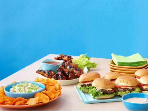 Food, Cuisine, Tableware, Dish, Meal, Finger food, Sandwich, Table, Plate, Bun,