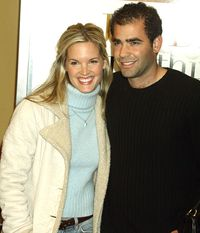 Wife of Pete Sampras, retired American tennis player and former World No. 1.