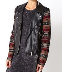 """<p>Out West Moto Jacket</p><p>The runways were full of western inspiration and this jacket nails it. The mix of media's and the leather make it the perfect essential for fall.</p><p>$42.80, <a title=""""Forever 21"""" href=""""http://www.forever21.com/Product/Product.aspx?BR=f21&Category=outerwear_coats-and-jackets&ProductID=2000128019&VariantID=%20"""" target=""""_blank"""">Forever 21</a>. </p>"""