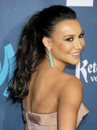 <p>Want a low-key cool style, with zero prep time? Create an artfully tousled, mid-level pony, like <em>Glee</em> actress Naya Rivera.</p>