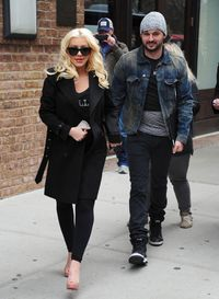 <p>With Matt Rutler in New York. </p>
