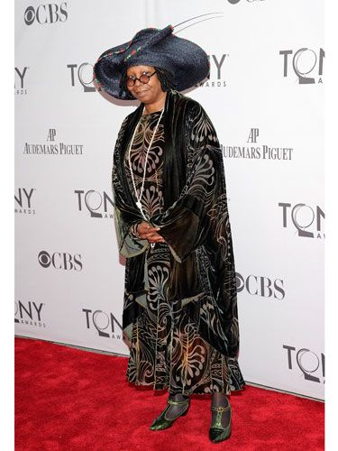 Even a habit, like the one Whoopi wears in <i>Sister Act</i> on Broadway, would have been more flattering than this.