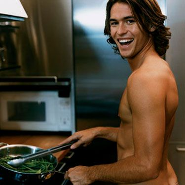 His uncle taught him this savory but so easy recipe. He fires up the skillet only for women he's really hot for.