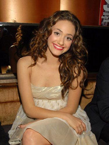 Emmy Rossum at the In Touch 5th Anniversary Party.