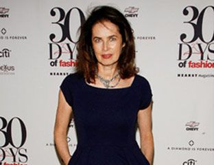 Model Dayle Haddon arrives at the 30 Days of Fashion Party.