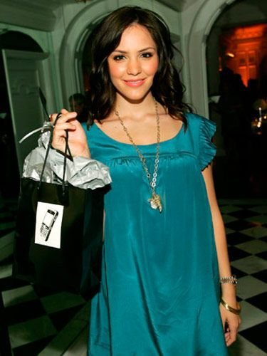 Katharine McPhee at the BlackBerry Curve from AT&T Launch Party in Beverly Hills.