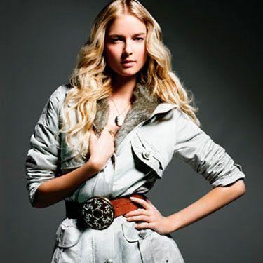 Coat, Steve Madden $195&#x3B; belt, Jacqueline Rose, $322&#x3B; necklace, Cartier&#x3B; ring, Geri