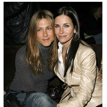 Jennifer Aniston and Courteney Cox-Arquette started off as on-screen <i>Friends</i> and now they're real-life BBFs.