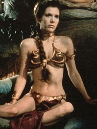 Carrie Fisher, in <i>Return of the Jedi</i>