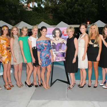 We're pretty sure we made the temperature rise in L.A. when these sizzling stars posed with Cosmo's editor in chief.<br /><br />