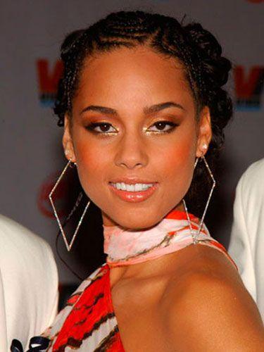 Terrific Alicia Keys Pictures Alicia Keys Hair Alicia Keys Braids Hairstyles For Women Draintrainus