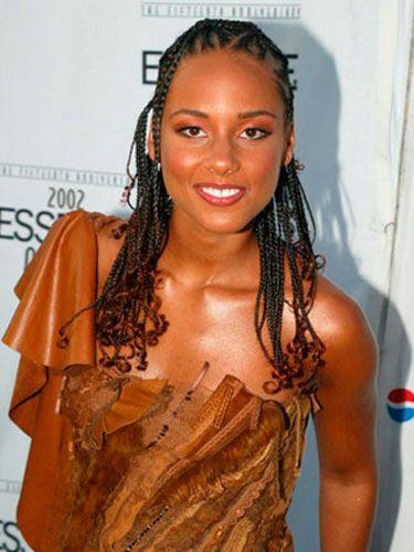 Super Alicia Keys Pictures Alicia Keys Hair Alicia Keys Braids Hairstyles For Women Draintrainus
