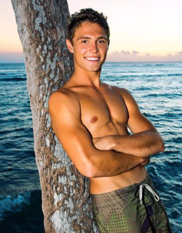 "<b>Name:</b> Jon Fritzler<br>  <b>Age:</b> 22<br> <b>Hometown:</b> Honolulu<br> <b>Cosmo Username:</b> <a href=""http://www.cosmopolitan.com/community/profile/HAWAII2008"" target=""_blank"">HAWAII2008</a><br> <b>Occupation:</b> Business Student<br> <b>In the words of his roommate's girlfriend, who nominated him:</b> ""Jon is a guy you crave in bed yet can't wait to take home to Mom.""<br> <b>Boy with a board:</b> ""I'd love to travel and surf all over the world.""<br> <b>Catch his eye by:</b> ""Laughing with me. A laugh and a smile say a lot.""<br> <b>Compliment he craves:</b>  ""'I trust you.'""<br> <b>When you ask a girl out do you call or text?</b> ""I ask in person.""<br> <b>Dating deal breaker:</b> ""Talking about an ex on a first date"""