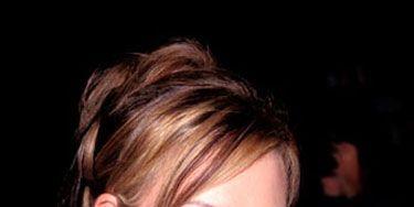 Hair, Ear, Lip, Mouth, Hairstyle, Chin, Forehead, Eyebrow, Earrings, Eyelash,