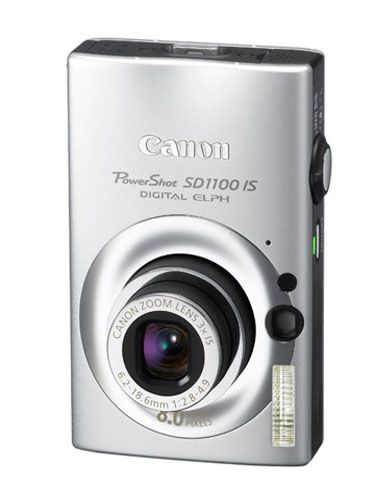 """Encourage his creative alter ego with this slick digital ELPH camera. Features optical image stabilization for crisp, clear photos. $199 at <a href= """"http://www.bestbuy.com/site/olspage.jsp?skuId=8742239&st=Canon+PowerShot+SD+1100&lp=6&type=product&cp=1&id=1202648739174"""" target= """"_blank"""">bestbuy.com</a>"""