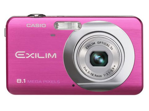 """Help her stretch her shutterbug wings with this adorable pocket camera that does double duty as a video camera.  Slips easily into her handbag or clutch. $179.99 at <a href= """"http://my.casio.com/index.cfm?fuseaction=products.detail&catalog=Cameras&section=Exilim%20Zoom&product=EX%2DZ80VP"""" target= """"_blank"""">my.casio.com</a>"""