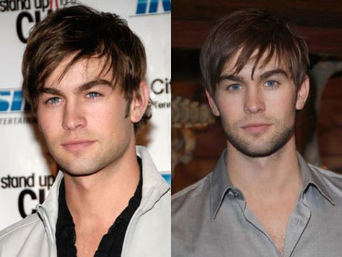 Spotted... Nate Archibald sans his razor. Looks like this <i>Gossip Girl</i> star is just as hot without it!