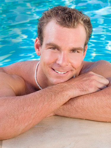 """<b>Name:</b> Peter Hudnut<br/> <b>Age:</b> 27<br/> <b>Hometown:</b> Los Angeles<br/> <b>Cosmo Username:</b> CALIFORNIABACH07<br/> <b>Occupation:</b> Olympic Water-Polo Player<br/> <b>Personality profile:</b> """"I'm kind, adventurous, and committed to my goals.""""<br/> <b>Beijing bound:</b> """"When I was 14, I wrote down that I was going to be an Olympic water-polo player. Now I'm training for the 2008 Games.""""<br/> <b>Catch his eye by:</b> """"Giving me a quick glance and a nice smile. A look like that is so inviting, it gets my thoughts racing.""""<br/> <b>Sexiest chick moment:</b> """"When a woman first wakes up, she looks so fresh and natural.""""<br/> <b>Midriff man:</b> """"I like to run my fingers across a girl's stomach. I can't get enough of the way it feels; the skin is so soft.""""<br/> <b>Wow him by wearing:</b> """"Fitted jeans. I love how they curve around a woman's body.""""<br/> <b>Make-him-melt move:</b> """"When we're holding hands, kiss the inside of my wrist. It's tender and sexy at the same time.""""<br/> <b>Dating deal breaker:</b> """"When a girl is nice to me but rude to a waiter. It shows selfishness."""""""