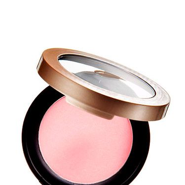 Cream blushes and bronzers tend to slide off, especially in a warm, crowded room or if you've been dancing. A matte powder formula, on the other hand, will stay put even if you work up a sweat. A good one: Sally Hansen Natural Beauty Powder Blush, $11.