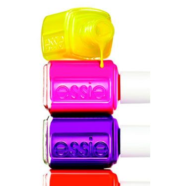 Day-Glo '80s-inspired lacquer hues like the ones in the Essie Neon collection made manis and pedis pop this summer.