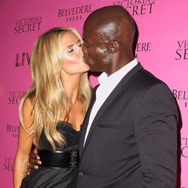 Heidi proved she only has lips for her husband at the Victoria's Secret After-Party at LIV Nightclub.