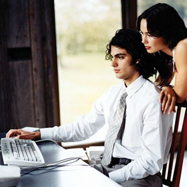 "Is it wrong to flirt online? <a href=""http://answerology.cosmopolitan.com/index.aspx?template=answer_question.ascx&question_id=2581517"" target=""_blank"">Answer this question!</a>"