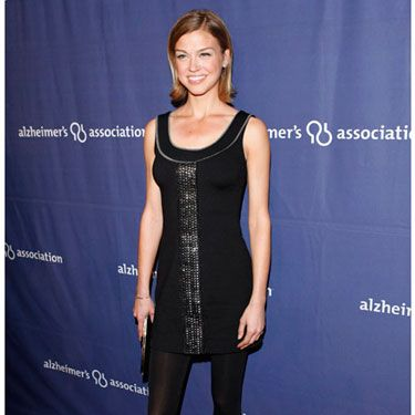 The <i>Friday Night Lights</i> star attends the Alzheimer's Association's night in Beverly Hills.