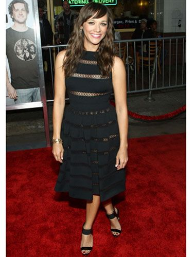 At the premiere of <i>I Love You, Man,</i> Rashida makes her debut as a leading lady in a sexy black sundress.