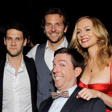Looks like <i>The Hangover</i> stars are also drinking buddies.