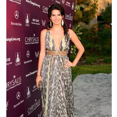 The southern beauty looked chiffon-chic in a maxi dress at the Chrysalis Butterfly Ball in Los Angeles.