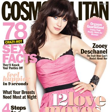 "Underneath this 32-year-old's frosting sweet exterior is a business-savvy bombshell with a plan to make women more empowered than ever. Introducing the <a href=""http://www.cosmopolitan.com/celebrity/exclusive/zooey-deschanel-october-cover-cosmopolitan"" target=""_blank"">Zooey</a> you've never met before...."