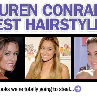 True to her SoCal roots, Lauren's favorite style is lazy, surfer-girl waves accented by her signature side braid.