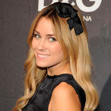 Leave it to Lauren to out-accessorize Blair Waldorf with this super-girlie headband.