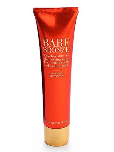 """Victoria's Secret Gleaming Self-Tan Body Tint ($18) is the best self-tanner I've ever used. It goes on without any streaks and you look bronze immediately."" <i>—Sarah, 26</i>"