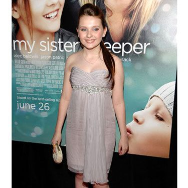 The starlet was pretty in pale pink at the premiere of her new film.