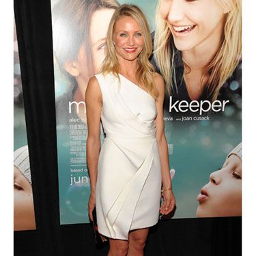 At the Hollywood premiere of her new film, <i>My Sister's Keeper,</i> the golden 