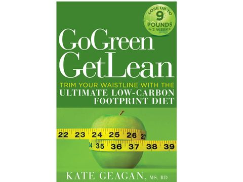 """Going green can actually make you leaner. Banishing soda and junk food from  your diet will whittle your bod <i>and</i> your grocery bill. Check out this new book, <a href=""""http://search.barnesandnoble.com/Go-Green-Get-Lean/Kate-Geagan/e/9781605299891/?itm=1"""" target=""""_blank""""><i>Go Green Get Lean</i></a>, by nutritionist Kate Geagan, for healthy recipes and tips for  buying locally grown food."""