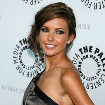 Before she was on <em>The Hills</em>, Audrina showed off her hills in a series of