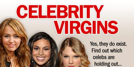 """<a href=""""http://www.cosmopolitan.com/sex-love/tips-moves/virgin"""">Losing your virginity</a> is usually a private matter, but these celebs weren't afraid to dish about how long they held out — or what they're waiting for! <br /><br />Defending her virgin status Taylor said, """"I read a very creative rumor  this morning saying I'm pregnant, which is the most impossible thing on the planet. Take my word for it."""""""