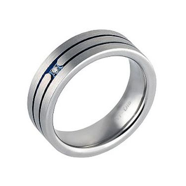 """For all you ladies who want to put a ring on it (and men who love a little sparkle), diamonds are no longer just a girl's best friend. Some jewelry designers now offer male engagement rings. Maybe it's a way of """"marking"""" your man, but we'd rather just trust the guy — and save the cash for the honeymoon."""
