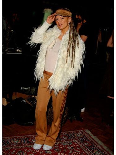 Somewhere underneath the fake fur and dreads, there's a fashionista waiting to  emerge.