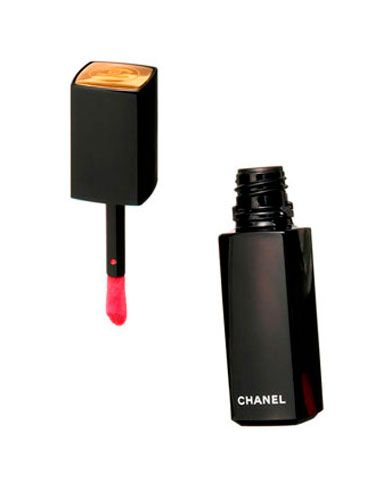 "A ""kiss me"" color in a creamy stain form that won't smooch off. <br /><br /><a href=""http://uma.chanel.com/-makeup-lips-lipstick-rouge-allure-laque-luminous-satin-lip-lacquer-/product/MALPR36S"" target=""_blank"">Chanel Luminous Satin Lip Lacquer in Phoenix</a>, $32 (available in October)"