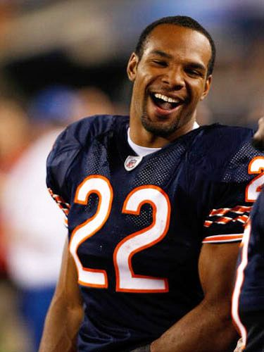 """<strong>Team:</strong>  Chicago Bears, #22<br /> <strong>Position:</strong>  Running back<br /> <strong>Age:</strong>  25<br /> <strong>Height:</strong>  6'2""""<br /> <strong>Weight:</strong>  220 lbs.<br /><br />  <strong>Cosmo:</strong>  What is something a woman can do on a first date that would guarantee a second one? <br /> <strong>Matt:</strong>  """"She can show that she has an authentic personality and have a good, genuine conversation with me. Also, I love sexy lips. I hate bad breath and bad attitudes."""""""