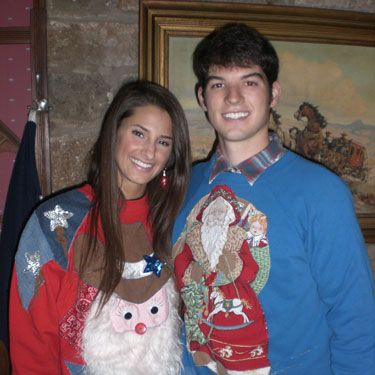 They're a match made in heaven. The sweaters, that is.