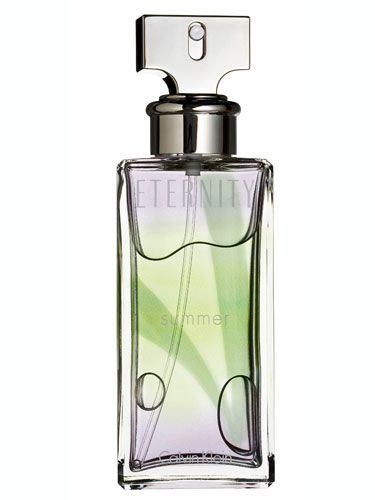 """The hint of fresh pear will make you feel like cruising the Cali coast. <br /><br /><a href=""""http://www.calvinklein.com/product/index.jsp?productId=3686665"""" target=""""_blank"""">Calvin Klein Eternity Summer</a>, $54"""