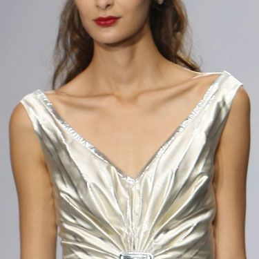 """I love the strong emphasis on the neckline."" —Luisa Beccaria