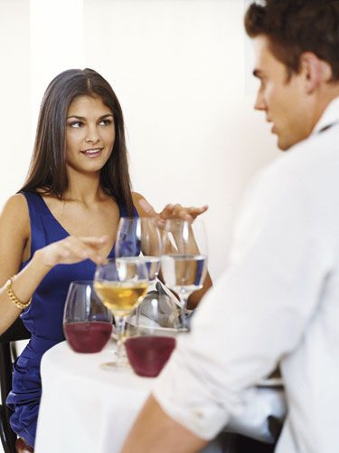 """Between drinks at dinner, the champagne toasts, and countless cocktails and shots, NYE is ripe with opportunities to get shit-faced. <a  href=""""http://www.cosmopolitan.com/advice/health/Dont-Be-Dumb-About-Drinking"""" target=""""_blank""""> Drinking more alcohol than you can handle is a one-way track to making an ass of yourself, so plan to alternate drinks of water and soda with your booze. </a>"""
