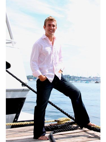 "<p><b>Name:</b> Taylor Twellman</p> <p><b>Age:</b> 29</p> <p><b>Location:</b> Boston</p> <p><b>Job:</b> New England Revolution Soccer Player</p> <p><b>E-mail:</b> <a href=""mailto:MA.bachelor09@gmail.com"">MA.bachelor09@gmail.com</a></p> <p><b>Buddy system:</b> ""If you're in my close circle of friends or family, I'll do just about anything for you.""</p> <p><b>Reel him in with:</b> ""I love to hear, 'Why are you smiling?'"" </p> <p><b>Wear this to wow him:</b> ""Any white top with a pair of jeans and high heels""</p> <p><b>The girl who catches his eye:</b> ""Has to be secure and able to hold a well-rounded conversation""</p> <p><b>Dating downer:</b> ""Talking about my profession. I'm looking for a girl who's about being with me, not about being with the soccer player.""</p>"